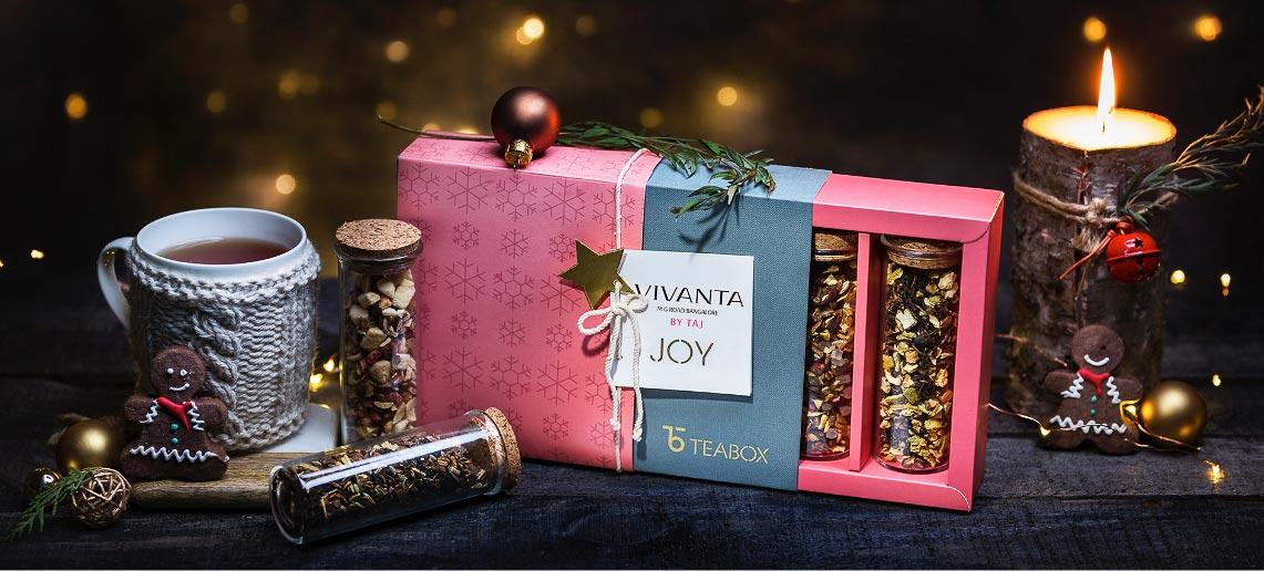 festive packaging - teabox