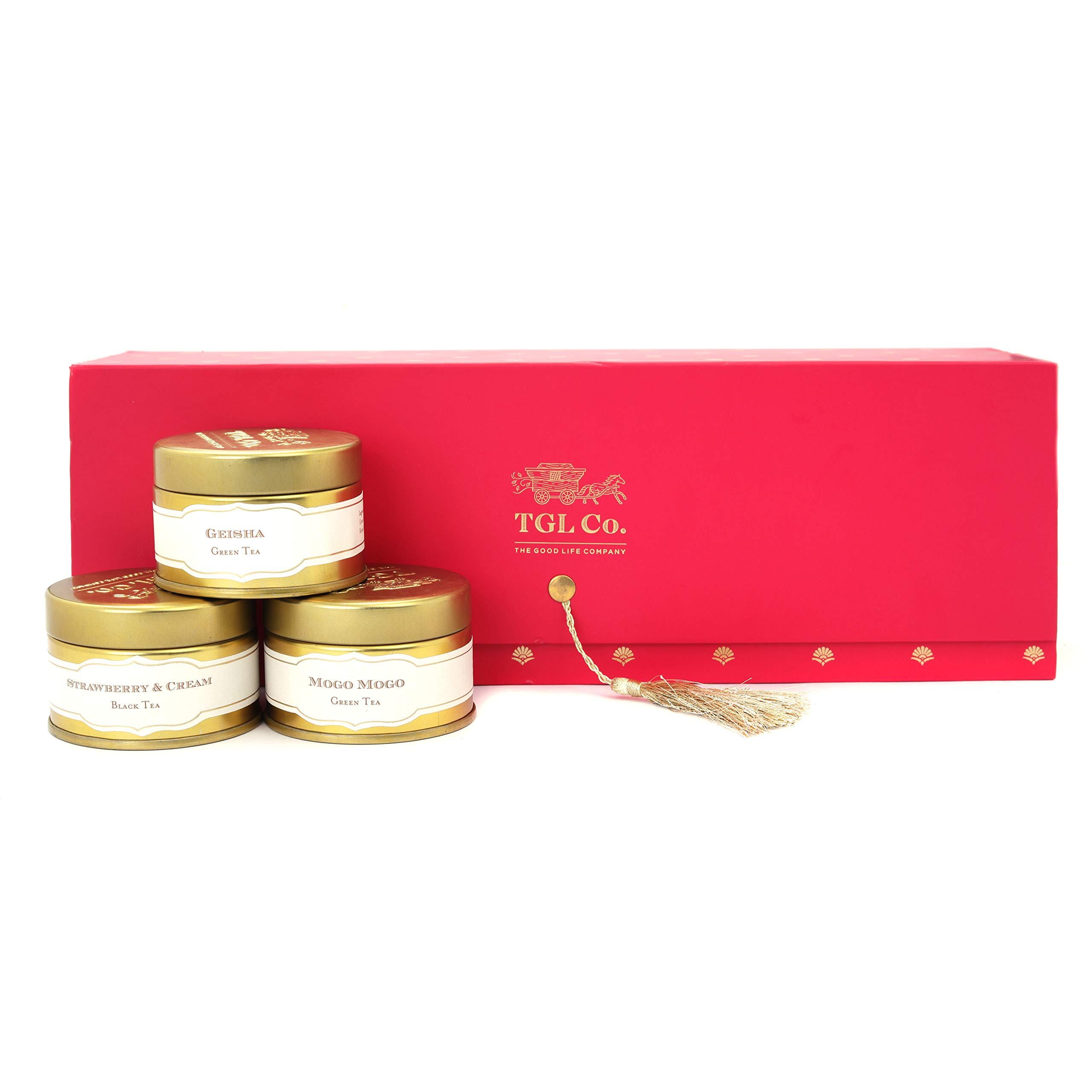 festive packaging - the good life co tea