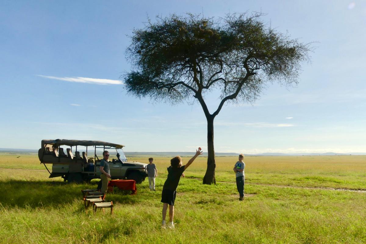 A Family Safari in Kenya