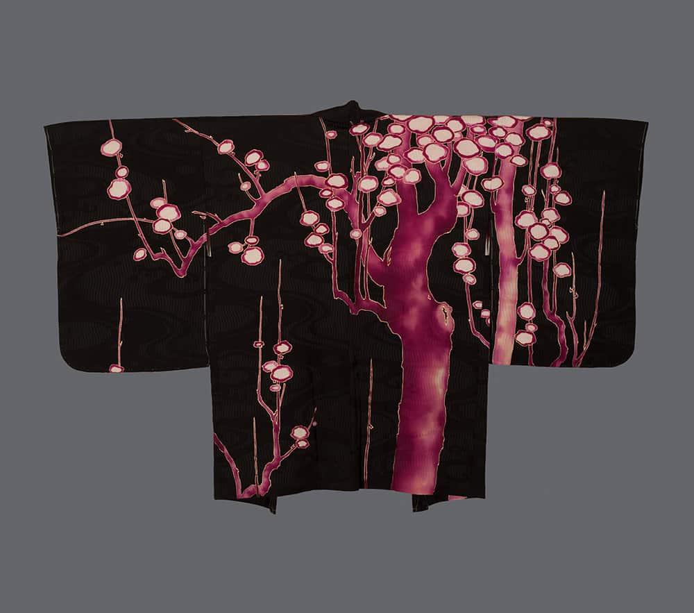 Woman's painted haori