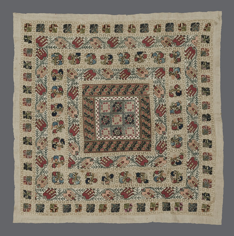 Greek Embroidered Panel