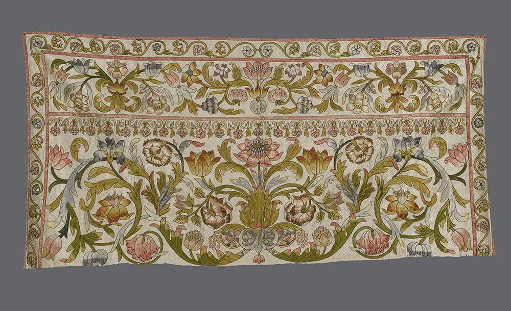Italian Floss Silk Valance