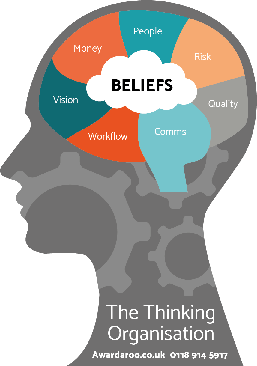The Business Improvement Framework graphic of The Thinking Organisation.