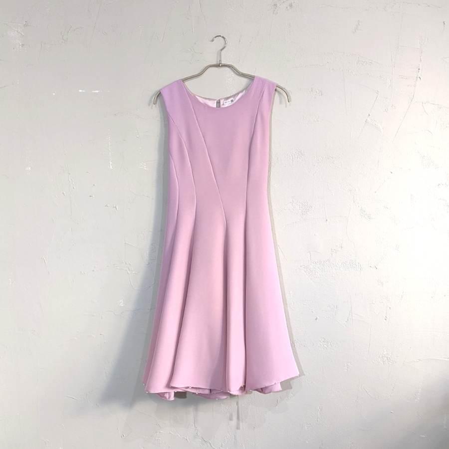 Dorry Doll パール付きデザインワンピースドレス サイズ ピンク