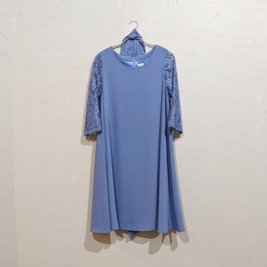 Dorry Doll Aライン2WAYドレス M/Freeサイズ ブルー