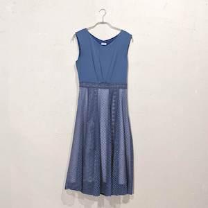 Dorry Doll レーススカートワンピース M/Freeサイズ ブルー
