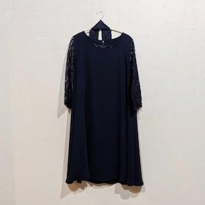 Dorry Doll Aライン2WAYドレス 2Lサイズ ネイビー