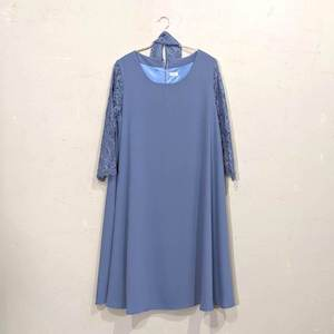 Dorry Doll Aライン2WAYドレス 2Lサイズ ブルー