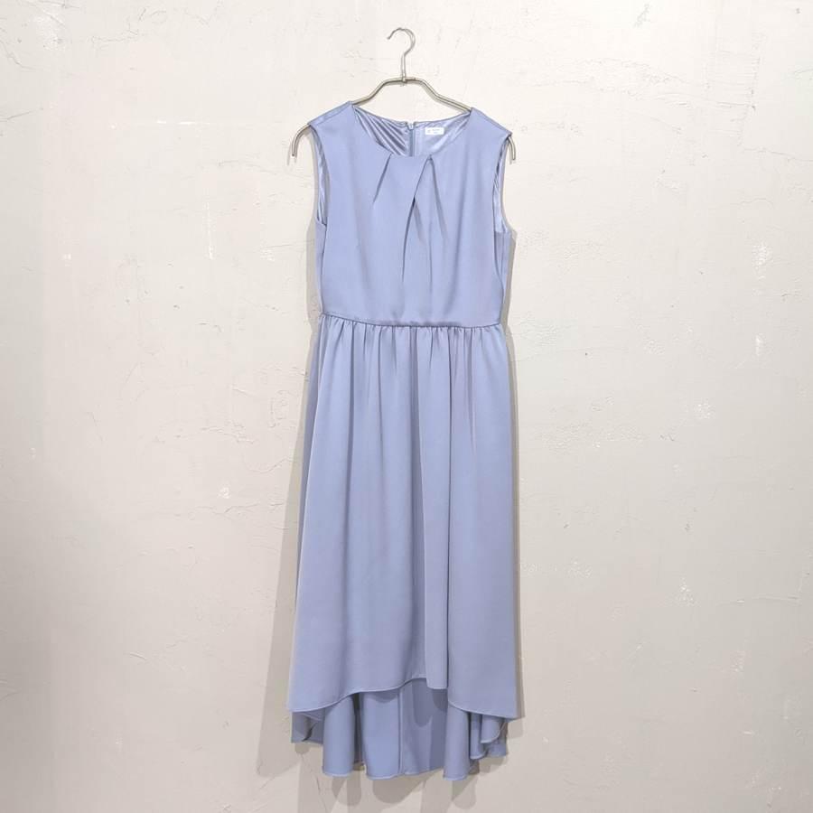 Dorry Doll フィッシュテールオーバースカート付き2WAYワンピース M/Freeサイズ ブルー