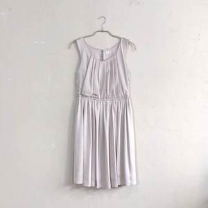 Dorry Doll 薄ドットワンピドレス M/Freeサイズ ベージュ