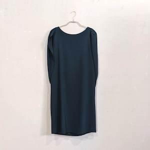 Dorry Doll スリーブデザインバックリボンワンピースドレス M/Freeサイズ グリーン