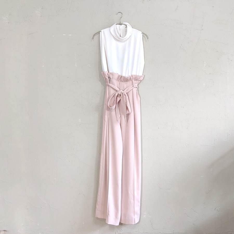 SNIDEL 綺麗めオールインワン Sサイズ ピンク