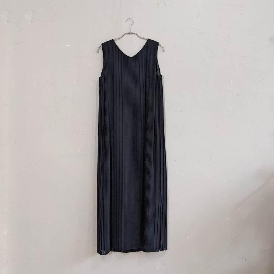 Dorry Doll 総プリーツIライワンピースドレス M/Freeサイズ ブラック