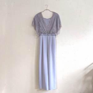 Dorry Doll レースショールデザインワイドパンツドレス M/Freeサイズ グレー
