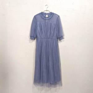 Dorry Doll シースルーシフォンワンピースドレス 2Lサイズ ブルー