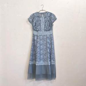 Dorry Doll チュール刺しゅうレースドレス M/Freeサイズ グリーン