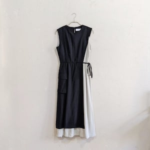 LAGUNAMOON ラップレイヤードワンピースドレス M/Freeサイズ ブラック