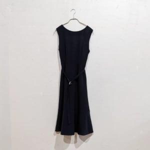 SNIDEL ノースリーブフレアラインワンピースドレス Sサイズ ブラック