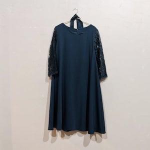 Dorry Doll Aライン2WAYドレス 2Lサイズ グリーン