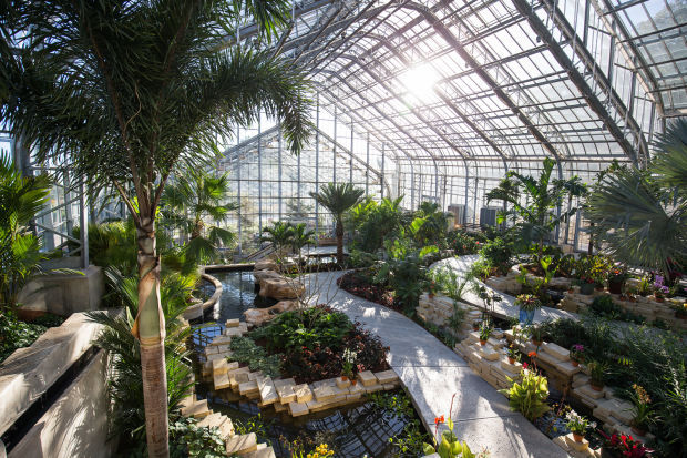 Lauritzen Gardens Conservatory in omaha nebraska places and spaces for prayer