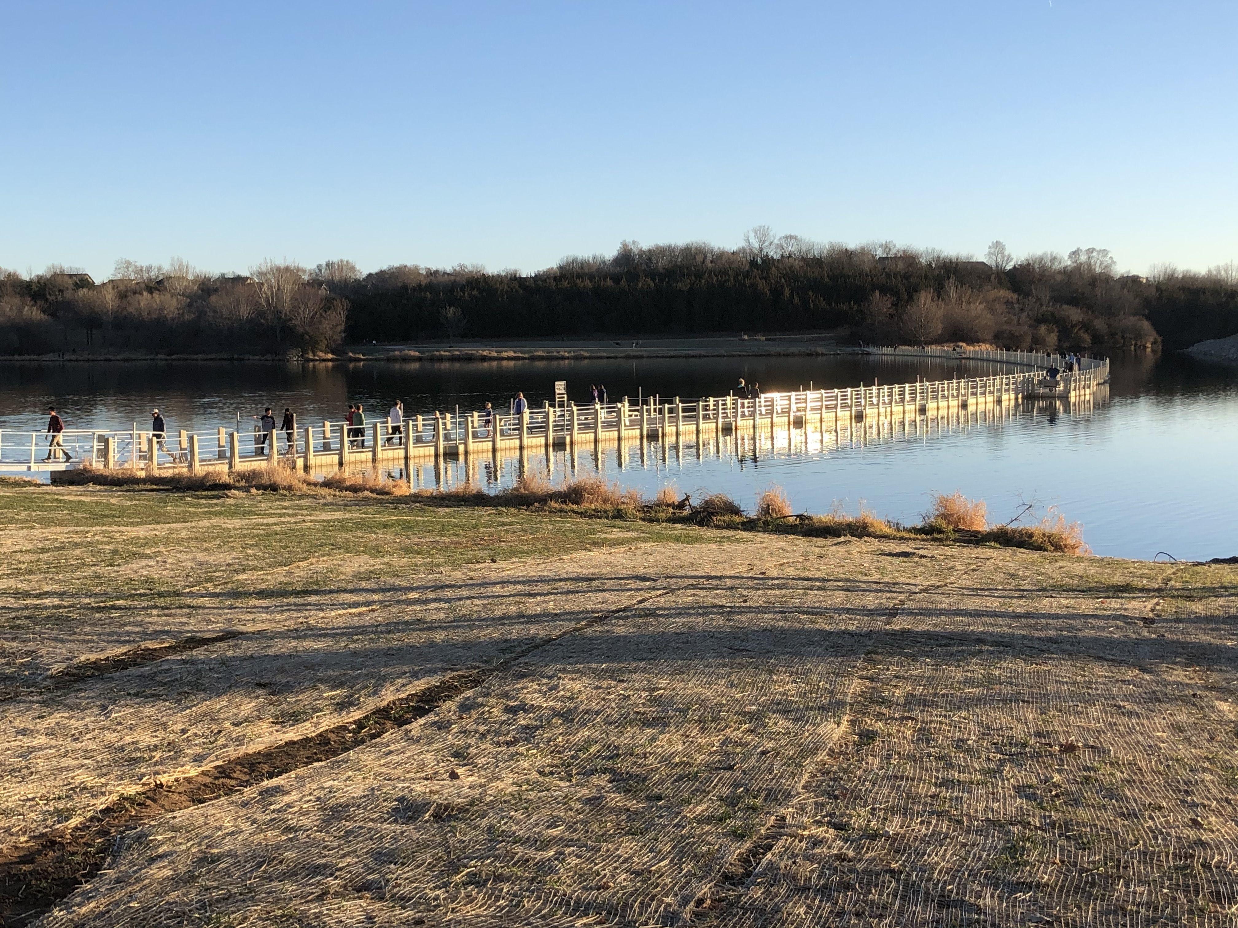 standing bear lake in omaha nebraska