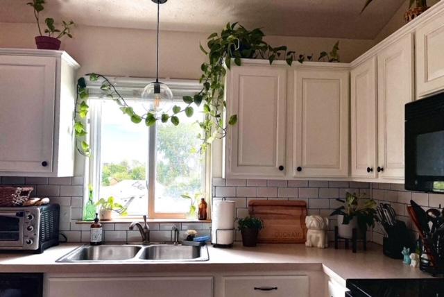 photo of farmhouse style kitchen in omaha nebraska