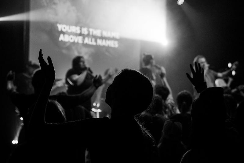 worshipping jesus at church in omaha nebraska