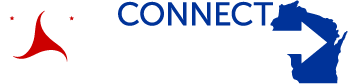 WisDOT Logo and Connect 2050 Project Logo