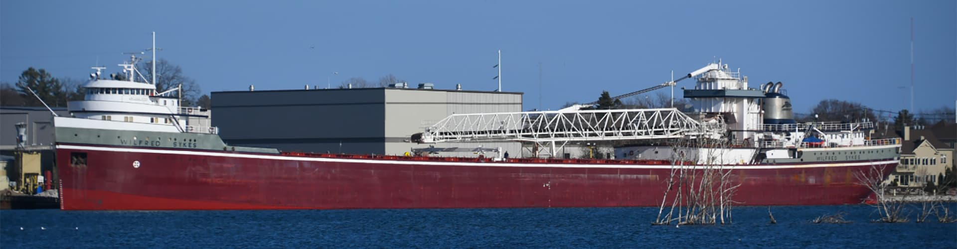 Wilfred Sykes ship in harbor