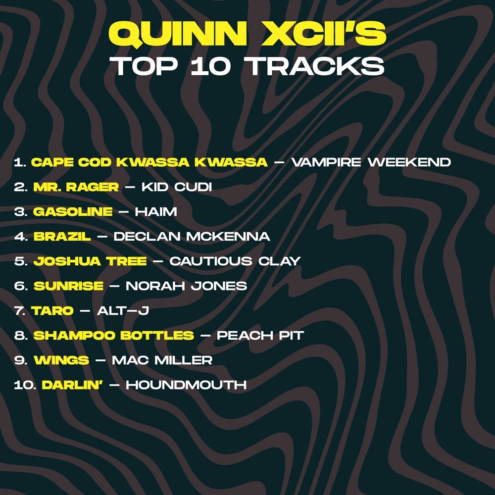 Quinn XCII Sheesh Artist Takeover Top 10 Songs