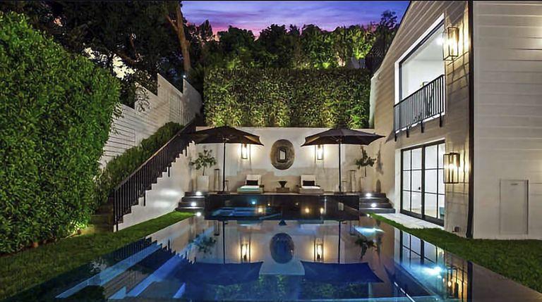 Rihanna Beverly Hills Mansion