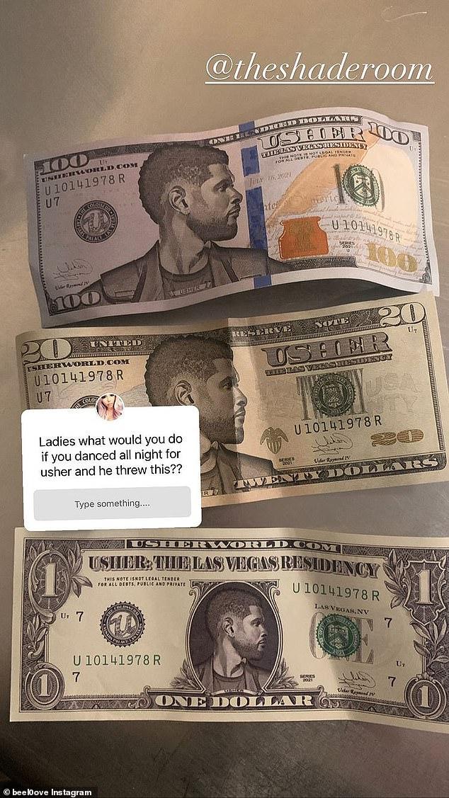 Usher Fake Money
