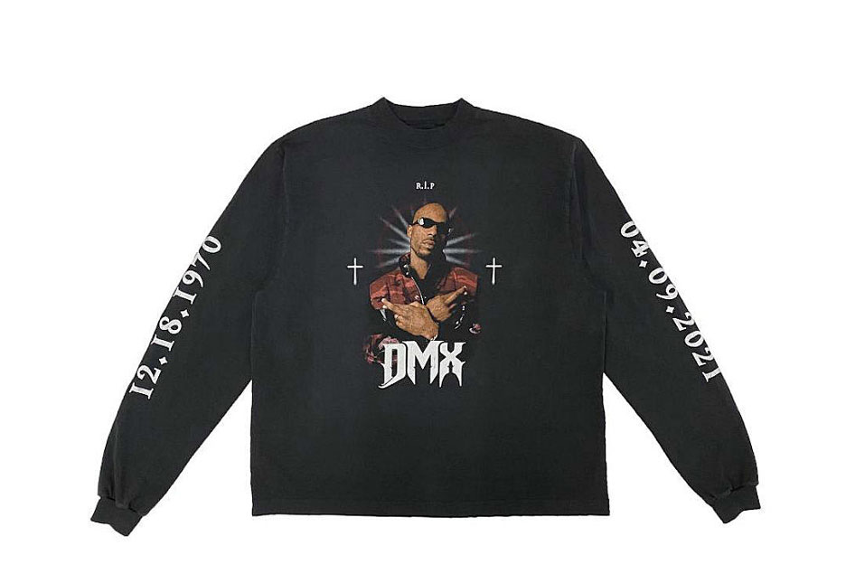 DMX Tribute T-Shirt Long Sleeve