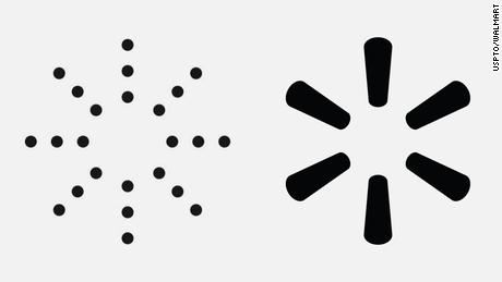 Kanye West Yeezy Logo, Walmart Logo similarities