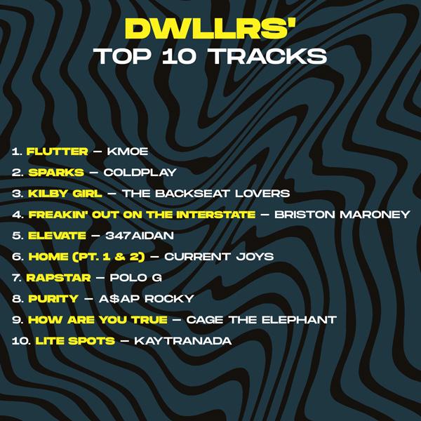 DWLLRS Top 10 Tracks - Sheesh Artist Takeover