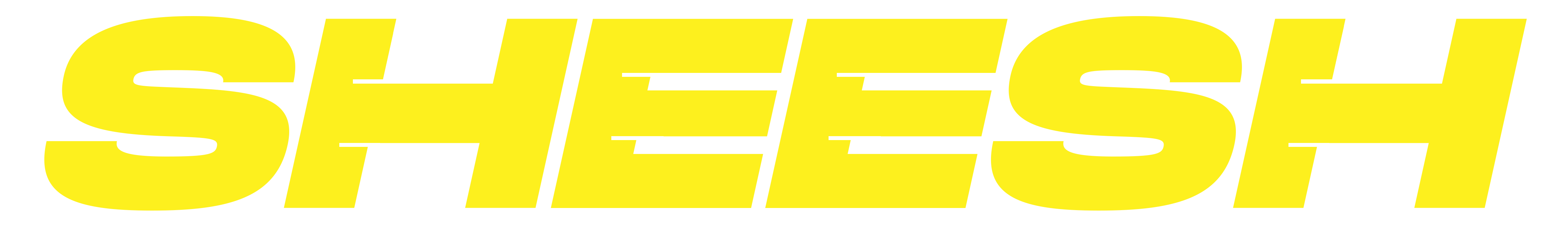 Sheesh Media banner logo yellow