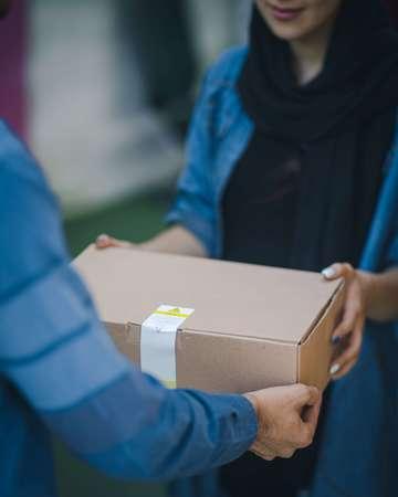 Delivery al interior