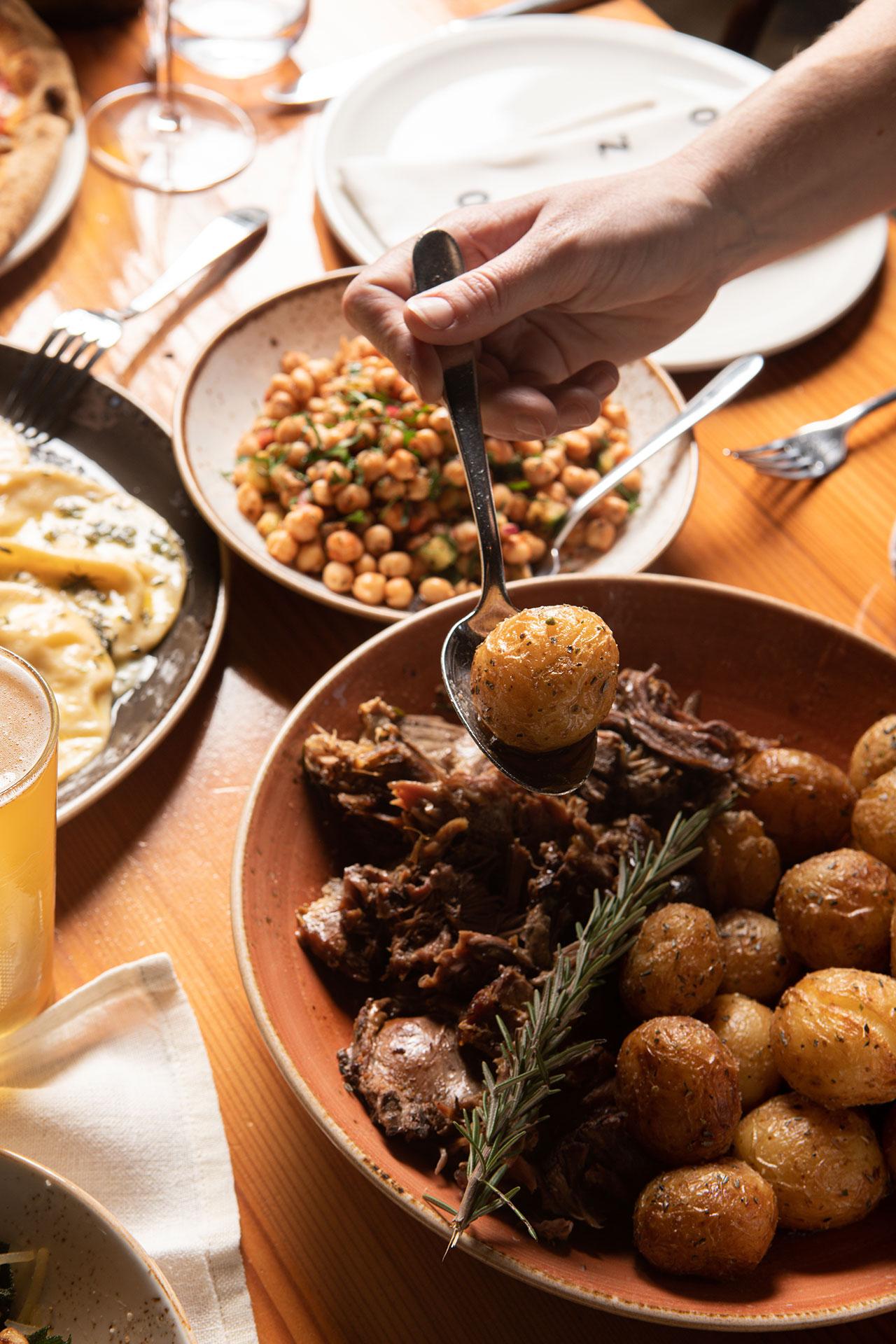 Zonzo Restaurant Lamb