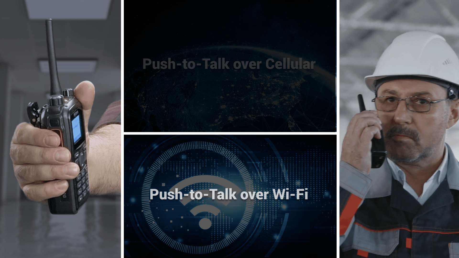 Push-to-Talk over Wi-Fi