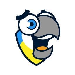voiceiq smiling parrot logo