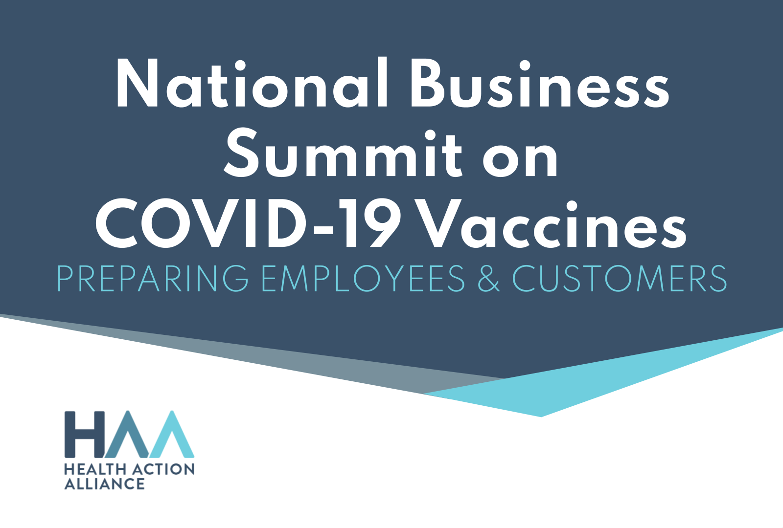 National Business Summit on COVID-19 Vaccines
