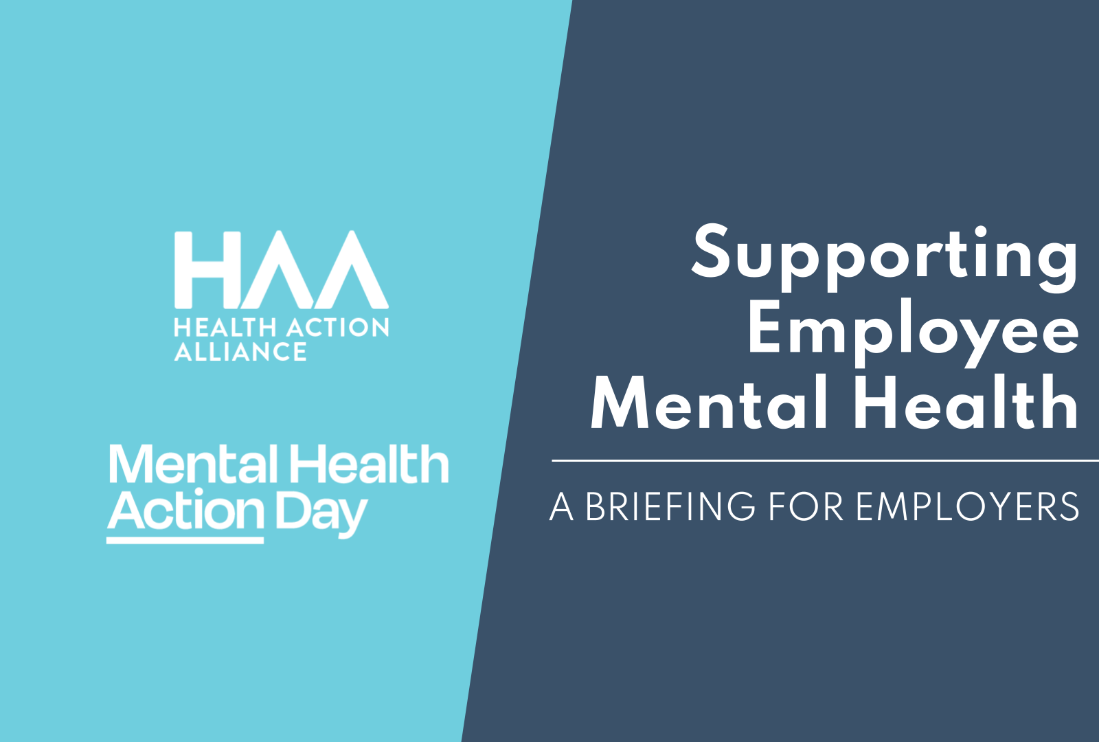 Supporting Employee Mental Health
