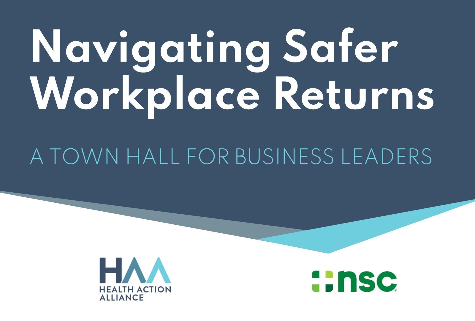 Navigating Safer Workplace Returns