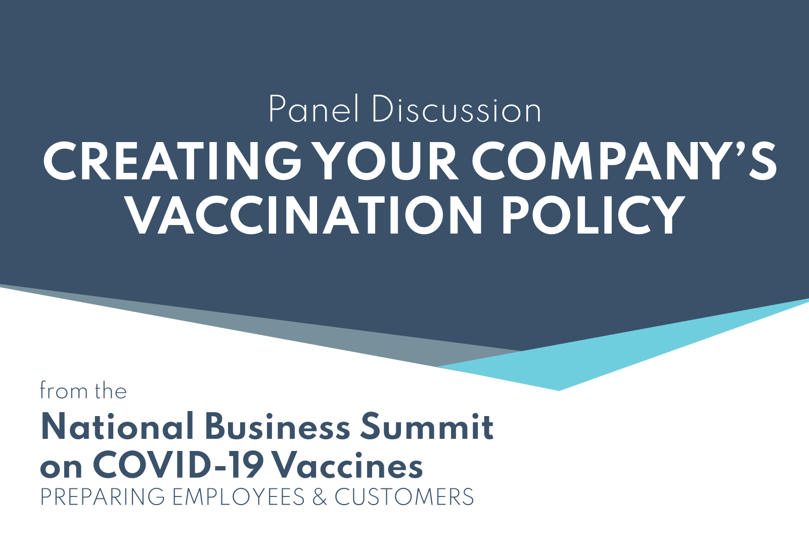 Creating Your Company's Vaccination Policy