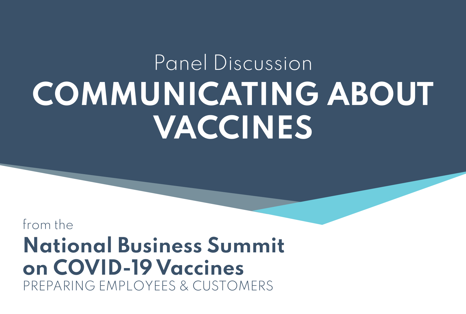 Communicating About Vaccines