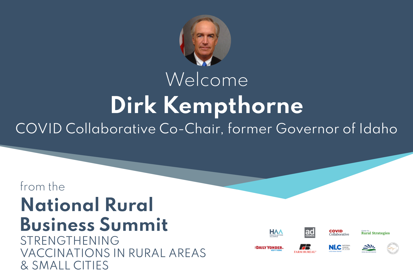 Introduction by Dirk Kempthorne