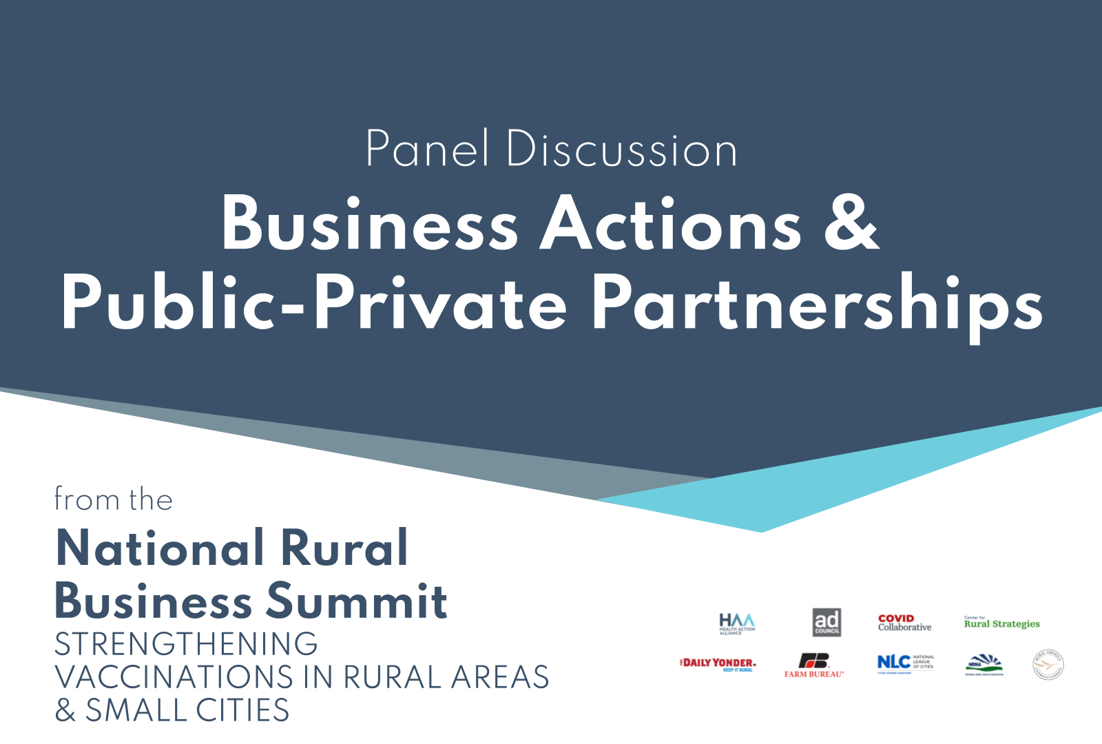 Business Actions & Public-Private Partnerships