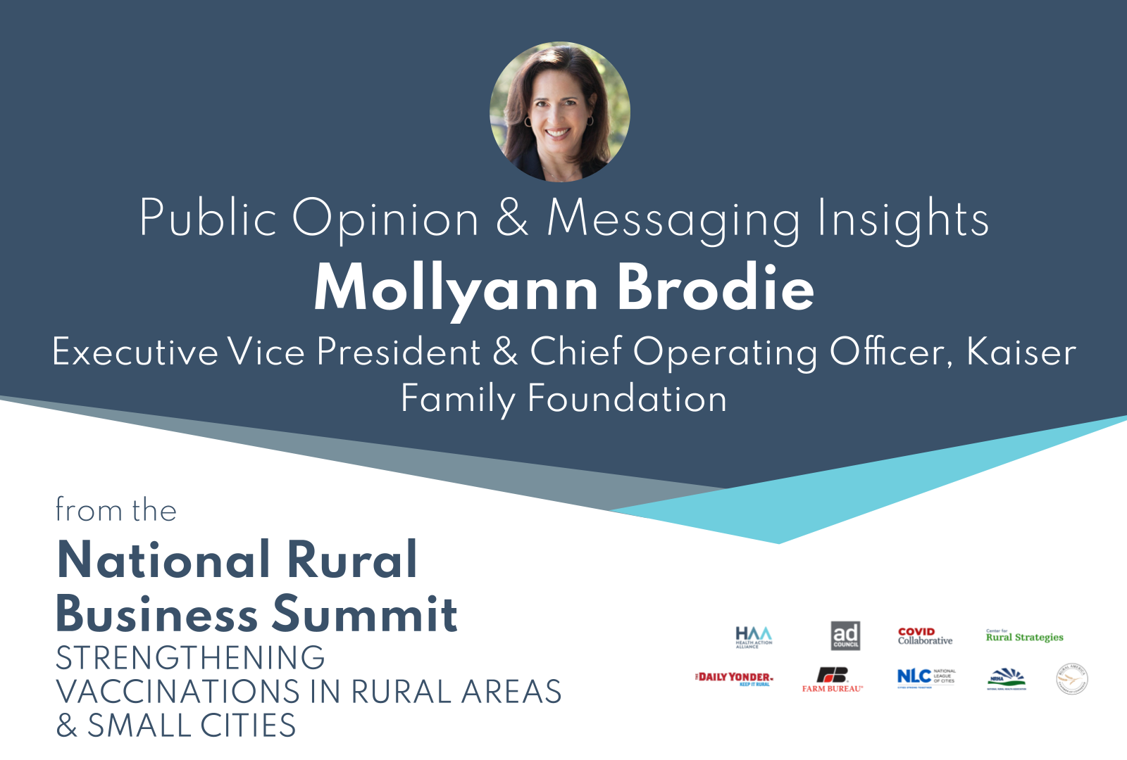 Public Opinion & Messaging Insights from Mollyann Brodie