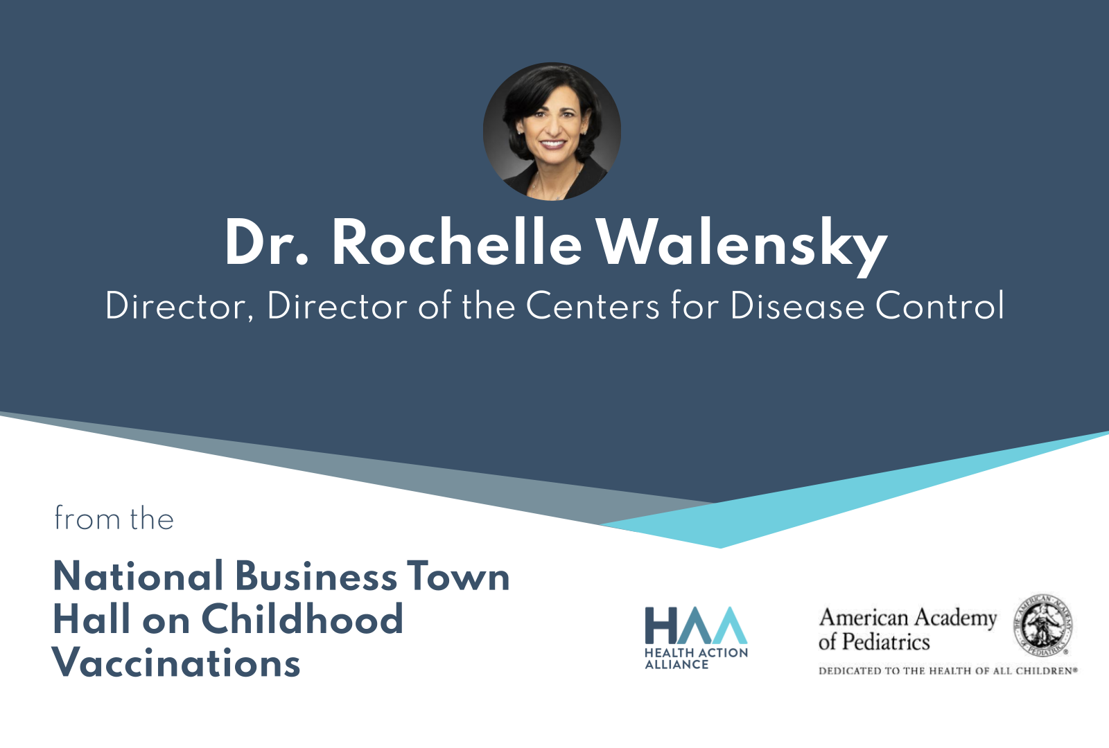 National Business Town Hall on Childhood Vaccinations