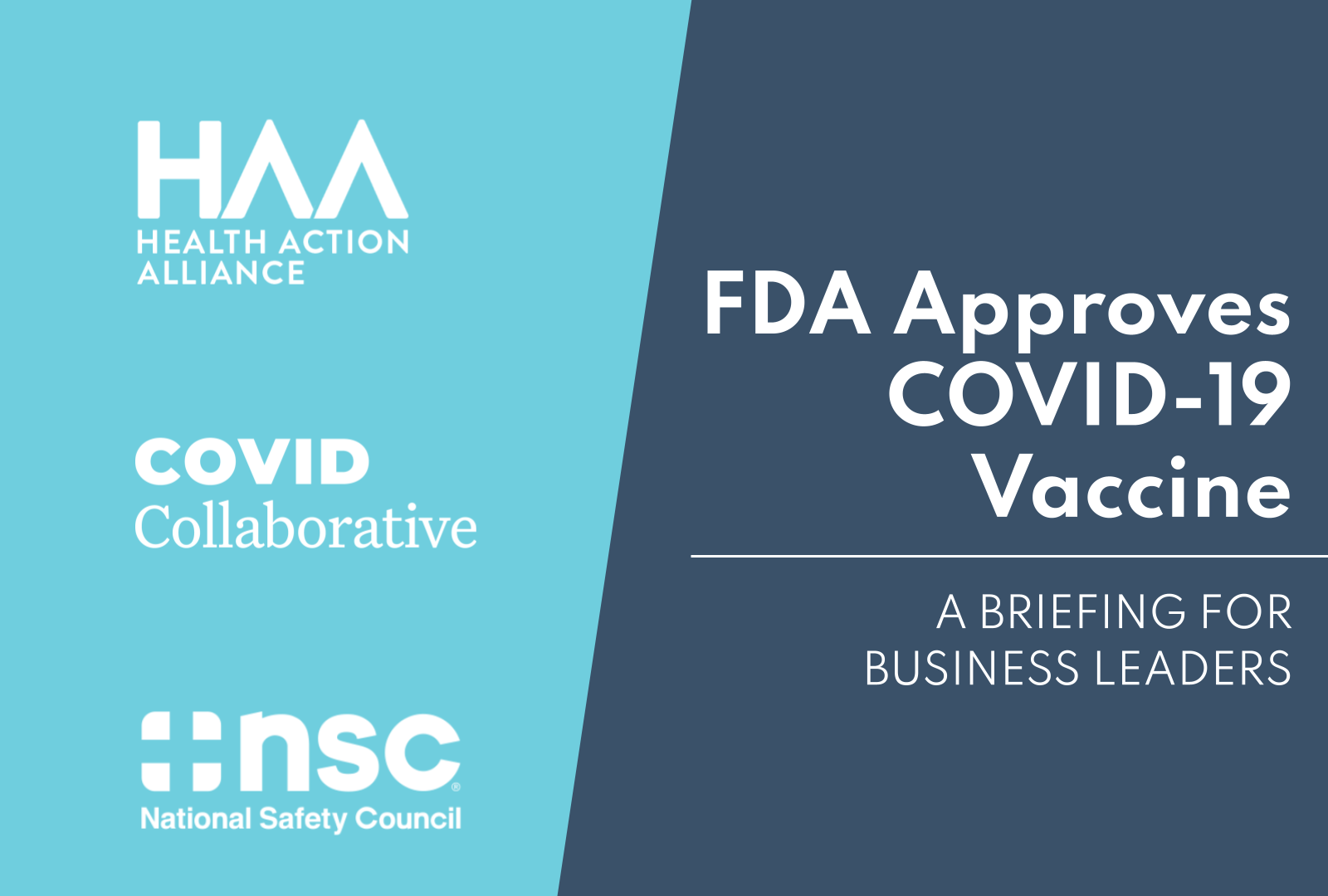 FDA Approves COVID-19 Vaccine: A Briefing for Business Leaders